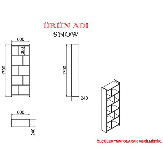 Kalender Dekor Avel-Twins Snow 145 cm Çalışma Masası Takımı CEVİZ