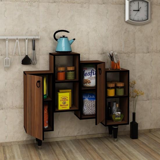 Kalender Dekor Juno Mutfak Dolabı Ceviz