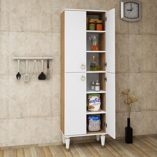 Kalender Dekor Ritüel Mutfak Dolabı RTL02 Atlantikçam-Beyaz