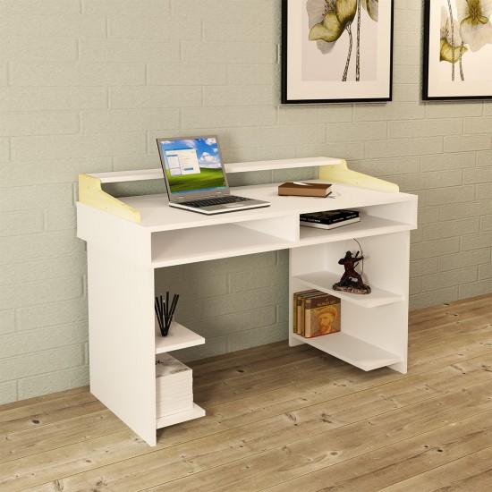 Abby Çalışma Masası ABY01 - Beyaz