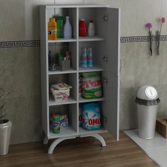 Kalender Dekor Pandora Çok Amaçlı Banyo Dolabı Beyaz