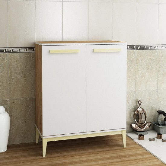 Kalender Dekor Rased Banyo Dolabı RS02 Atlantikçam-Beyaz