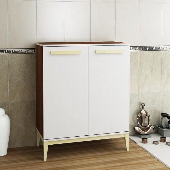 Kalender Dekor Rased Banyo Dolabı RS03 Ceviz-Beyaz