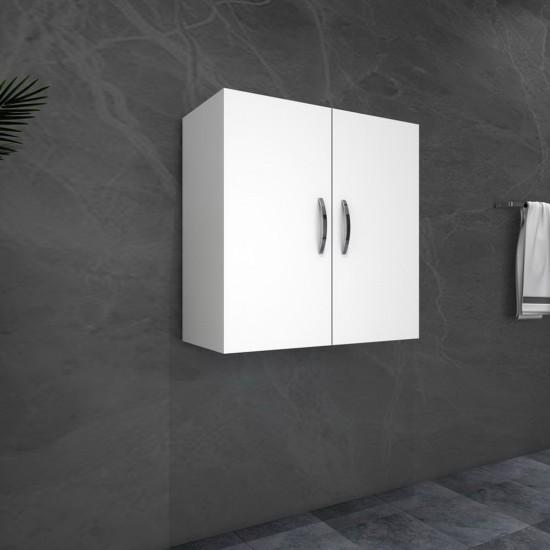 Kalender Dekor Renat Çok Amaçlı Banyo Dolabı Beyaz