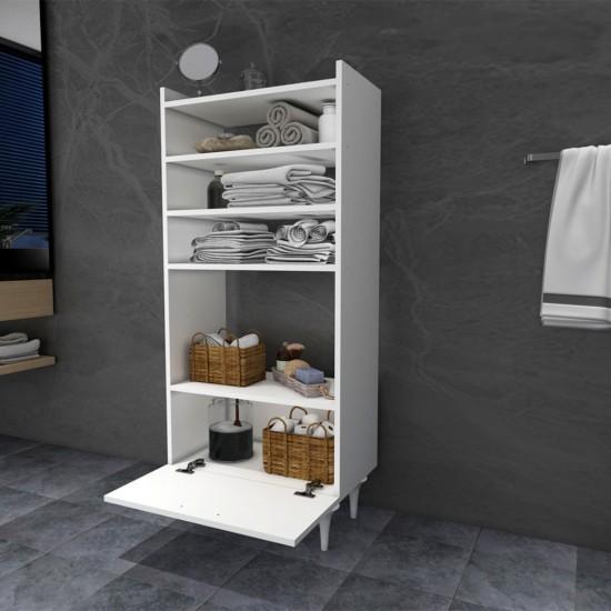 Kalender Dekor Zenna Çok Amaçlı Banyo Dolabı Beyaz