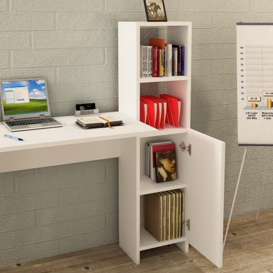 Kalender Dekor Leonardo Çalışma Masası Beyaz