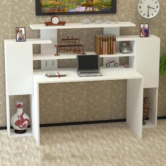 Kalender Dekor Orabella Çalışma Masası Beyaz
