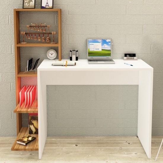 Kalender Dekor Rafael Çalışma Masası Ceviz-Beyaz