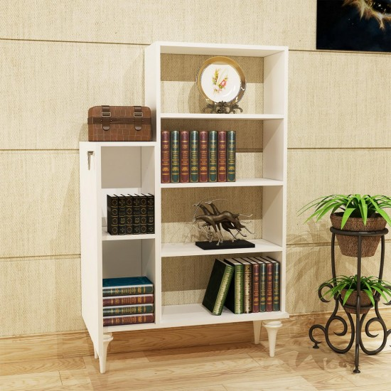 Kalender Dekor Tunç Kitaplık TN01