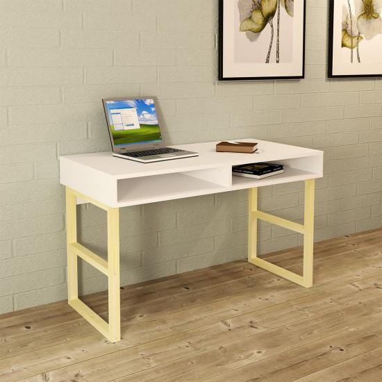 Kalender Dekor Ozan Çalışma Masası OZN01 Beyaz