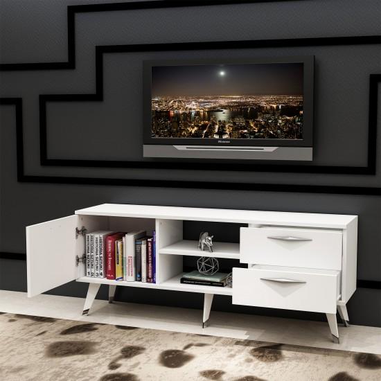 Kalender Dekor Aithera Tv Ünitesi Beyaz