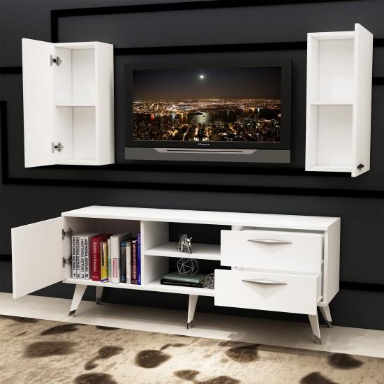 Kalender Dekor Alope Tv Ünitesi Beyaz