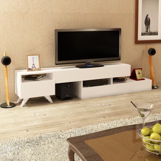 Kalender Dekor Antares TV Ünitesi Beyaz